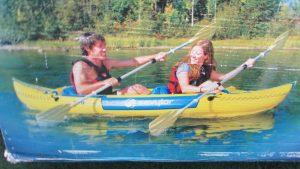 Sevylor Tahiti Classic Inflatable Kayaks