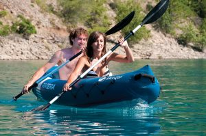 Sevylor Two Person Inflatable Kayaks With…