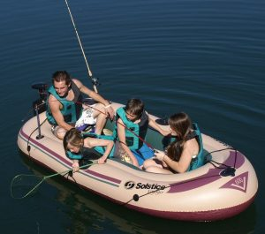 Solstice Voyager 6-Person Inflatable Boats