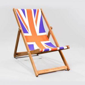 Union Jack Folding Camping Chairs