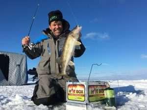 Walleye Ice Fishing Rods
