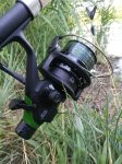 Mitchell Avocet free spool reel in action