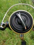 Brake knob of the Shimano Sahara