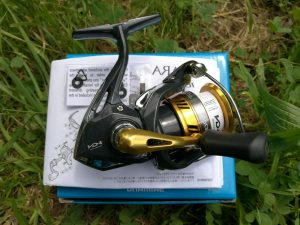 Shimano Sahara with package contents